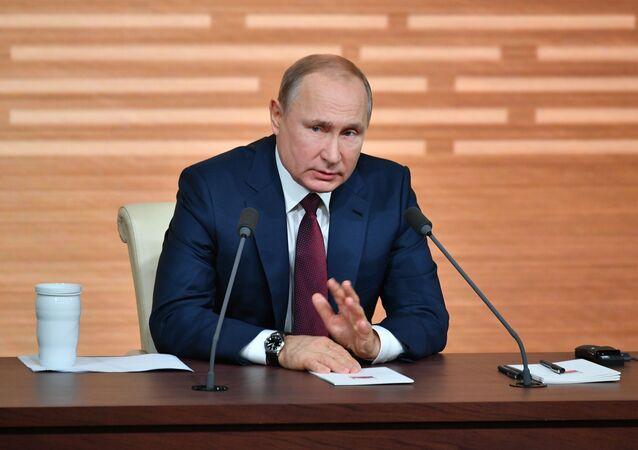 la grande conférence de presse annuelle du Président russe 2019