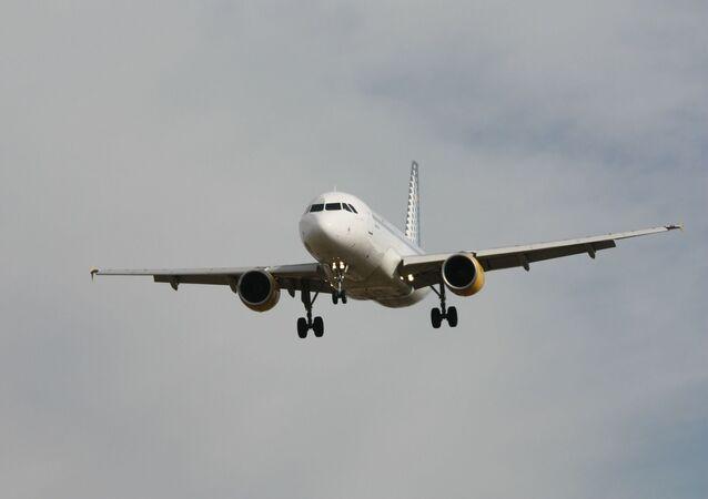 Un Airbus de Vueling (image d'illustration)