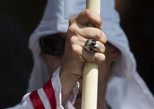 Un membre du Ku Klux Klan