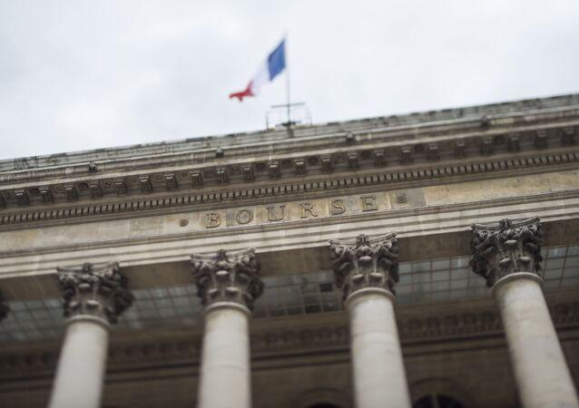Le Palais Brongniart, où se trouvait anciennement la Bourse de Paris.