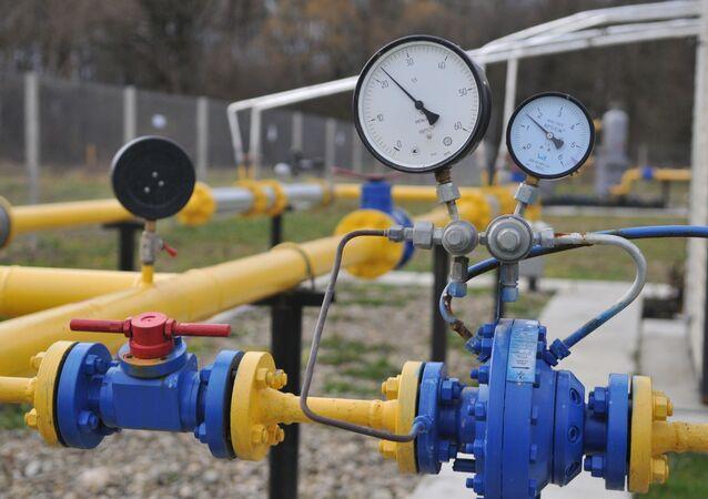 Station de pompage de gaz