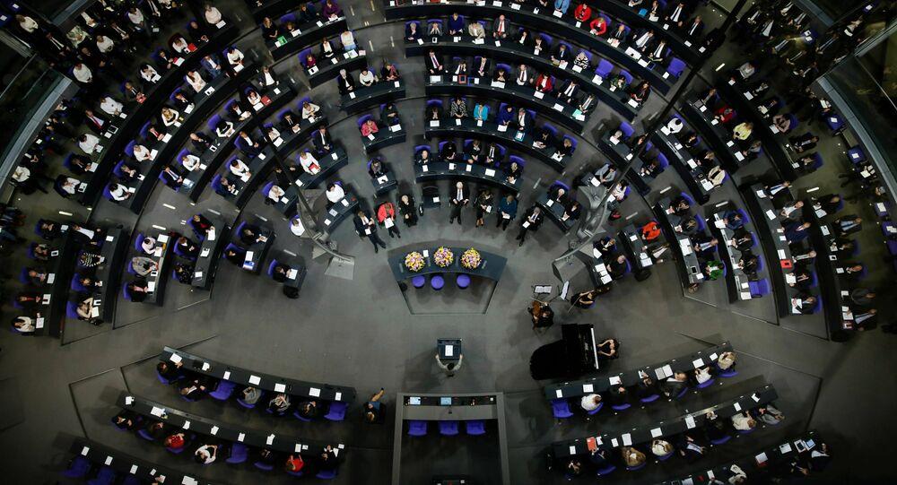 Le Bundestag  (photo d'archives)
