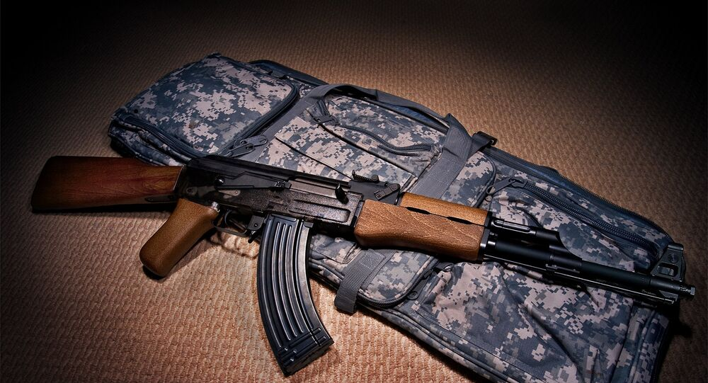 Un fusil AK-47