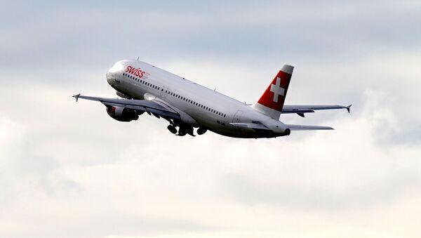 un avion de la compagnie Swiss, image d'illustration - Sputnik France