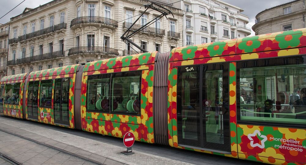 Un tramway à Montpellier (image d'illustration)