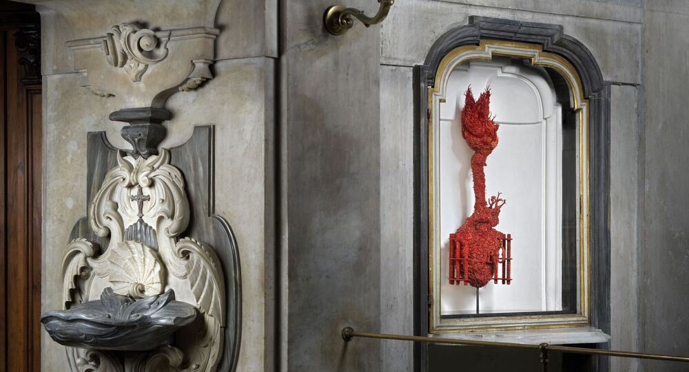 Jan Fabre Pio Monte della Misericordia, Naples
