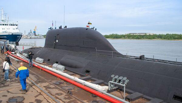 Le sous-matin nucléaire K-560 Severodvinsk du projet Iassen-M  - Sputnik France