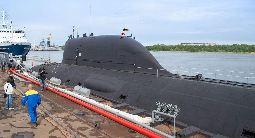 Le sous-matin nucléaire K-560 Severodvinsk du projet Iassen-M