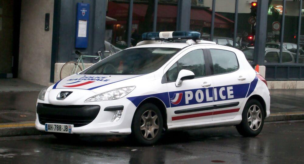 Véhicule de la police (image d'illustration)