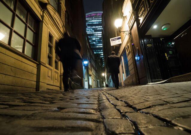 Une rue de Londres