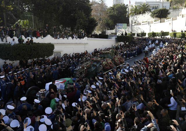 Funérailles d'Ahmed Gaïd Salah à Alger