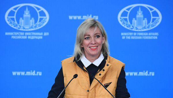 La porte-parole du ministère russe des Affaires étrangères, Maria Zakharova - Sputnik France