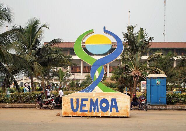 Logo de l'UEMOA (Union économique et monétaire ouest-africaine)