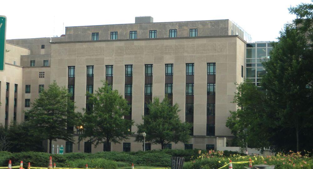 Le siège du département d'État américain