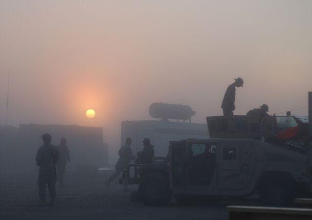 Une base militaire en Irak, image d'illustration
