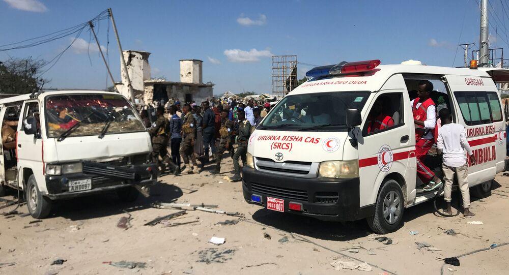 explosion à Mogadiscio