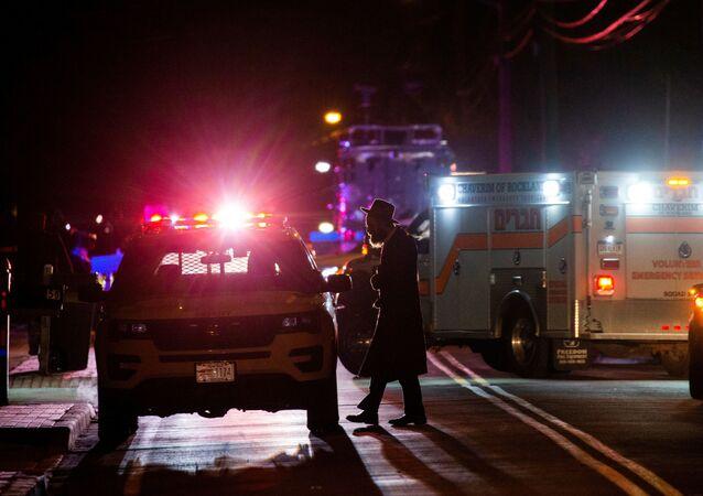 Attaque à l'arme blanche dans une synagogue près de New York
