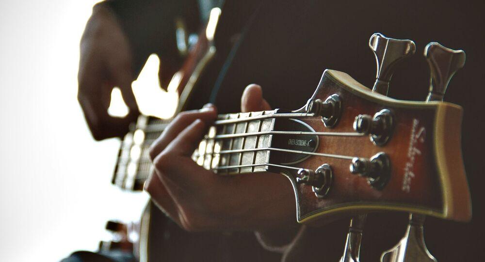 Guitare (image d'illustration)