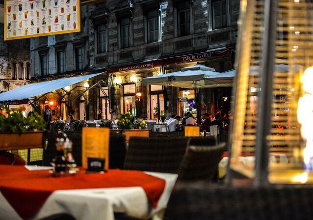 Une terrasse d'un restaurant (image d'illustration)