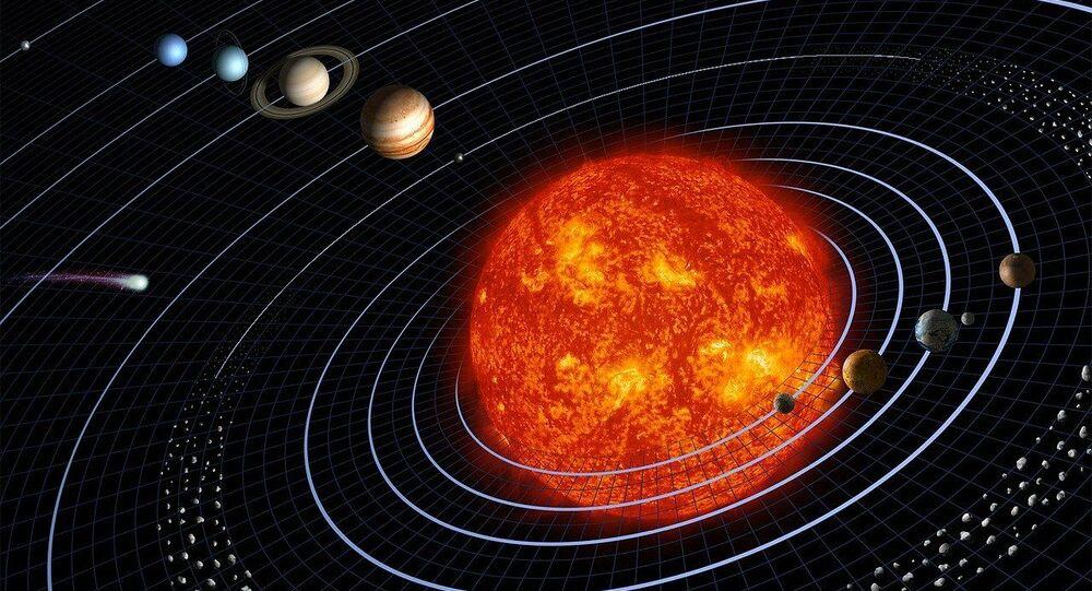 Système solaire, image d'illustration