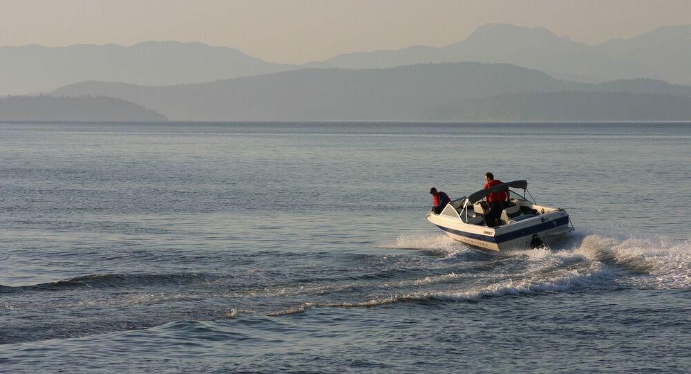 Un bateau de plaisance