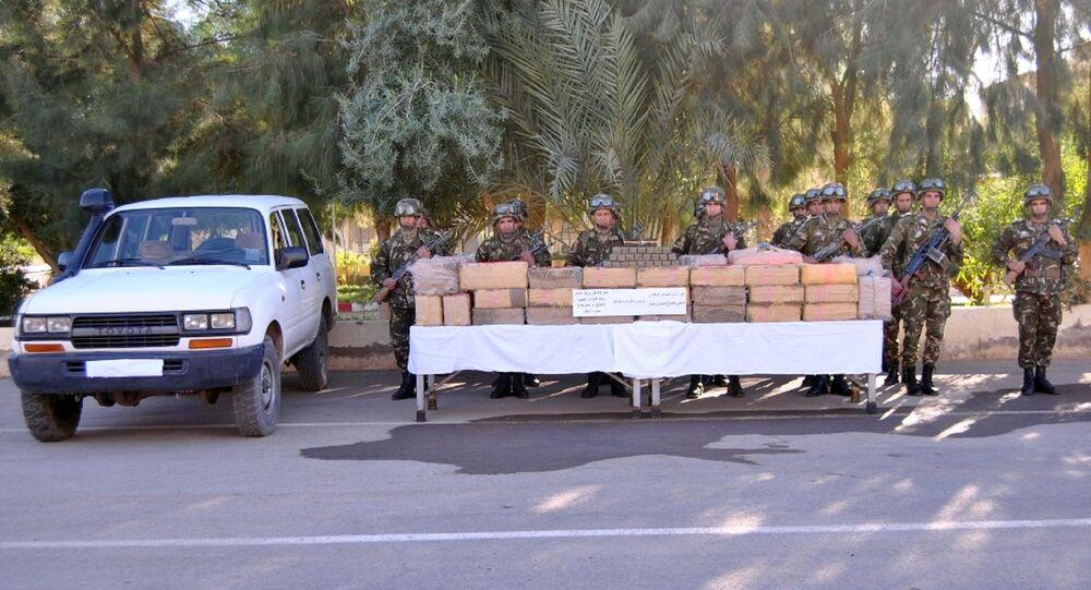 1,250 tonne de résine de cannabis saisie par l'armée algérienne à Béchar