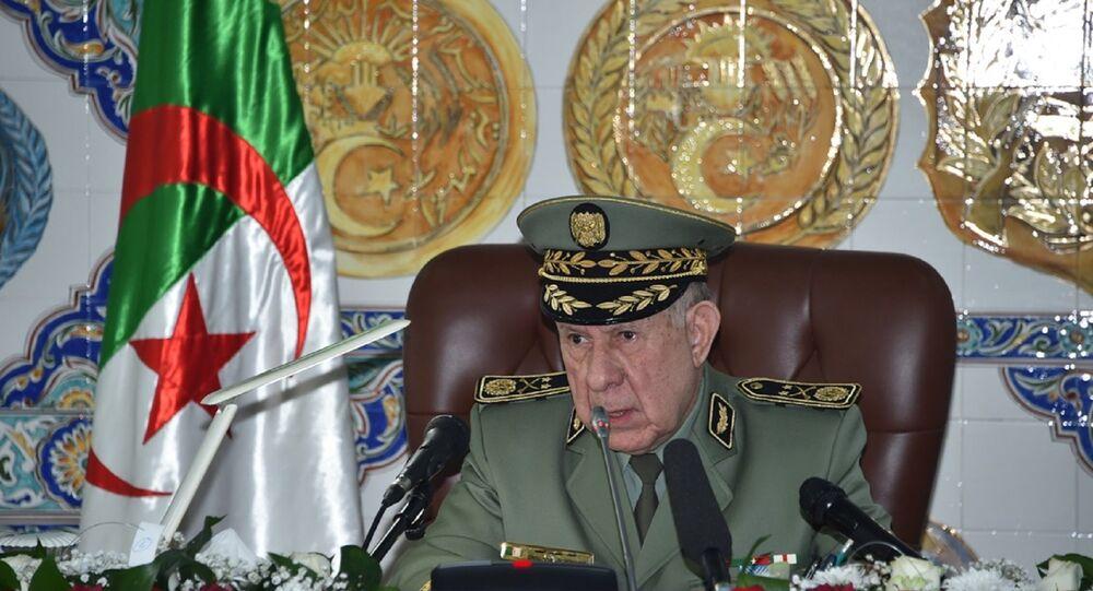 Le général-major Saïd Chengriha, chef d'état-major de l'Armée nationale populaire (ANP) algérienne