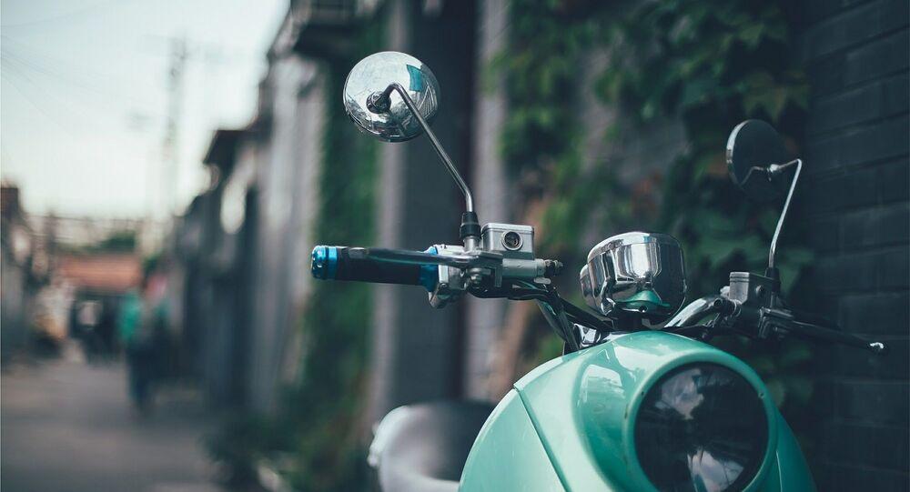 Un scooter (image d'illustration)