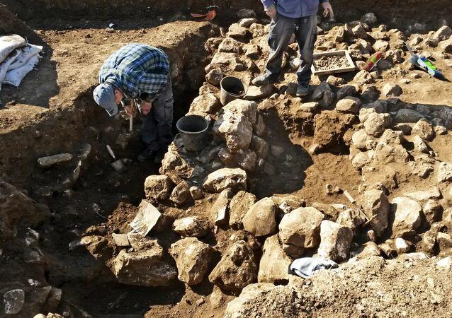 Fouilles archéologiques en Israël