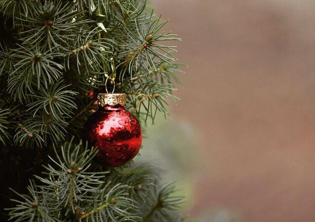Une boule de Noël