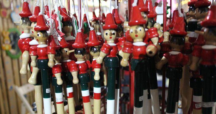 Foire de Noël italienne à Moscou