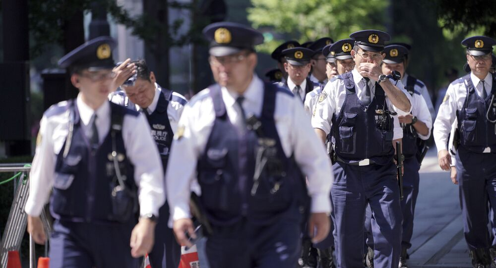 La police japonaise