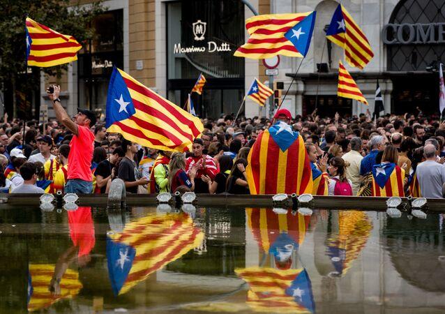 Manifestations à Barcelone