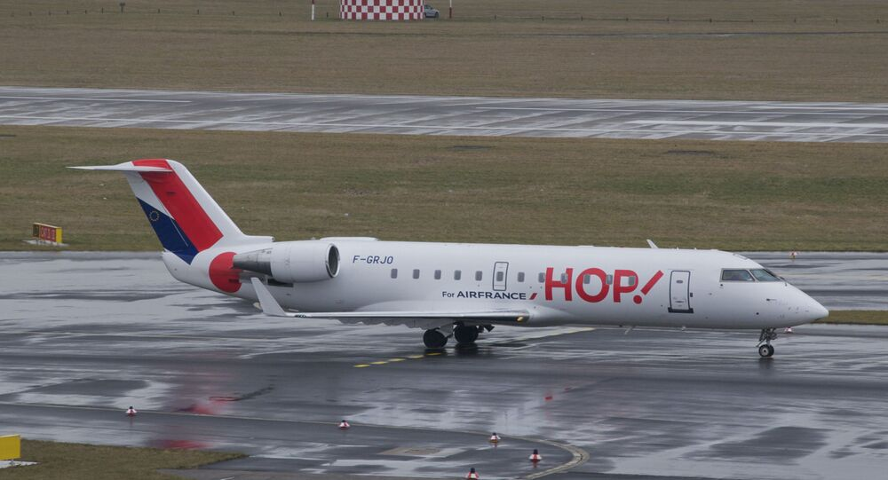 Un Bombardier CRJ100ER de Hop! Air France
