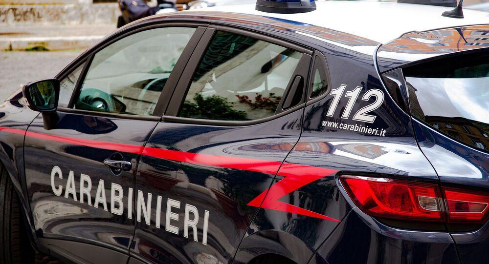 La police italienne