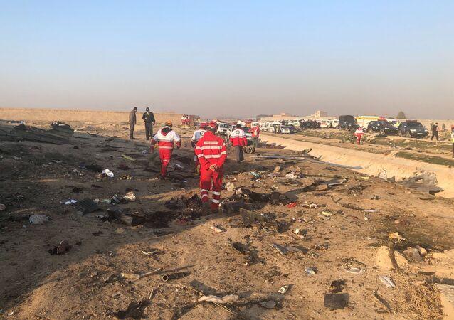Un Boeing 737 ukrainien avec 167 personnes à son bord s'écrase en Iran