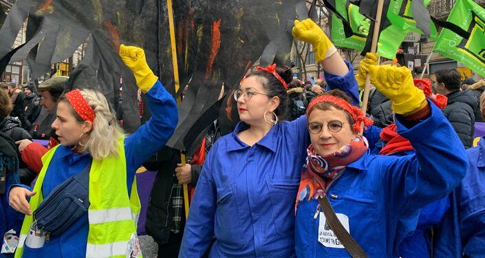 Manifestation contre la réforme des retraites, 9 janvier 2020
