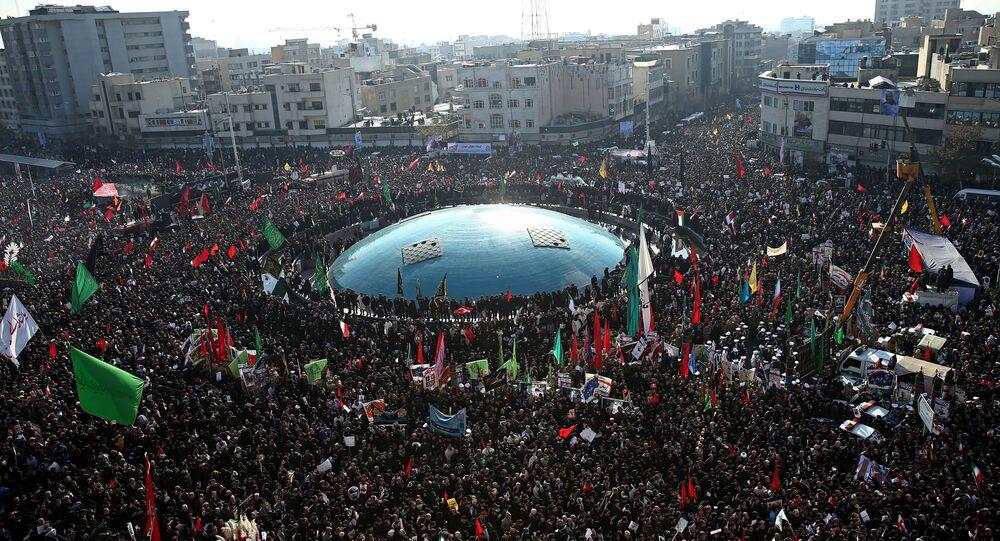 Le peuple iranien descendu sur les rues pour pleurer la mort du général Soleimani