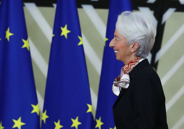 Christine Lagarde, présidente de la Banque centrale européenne.