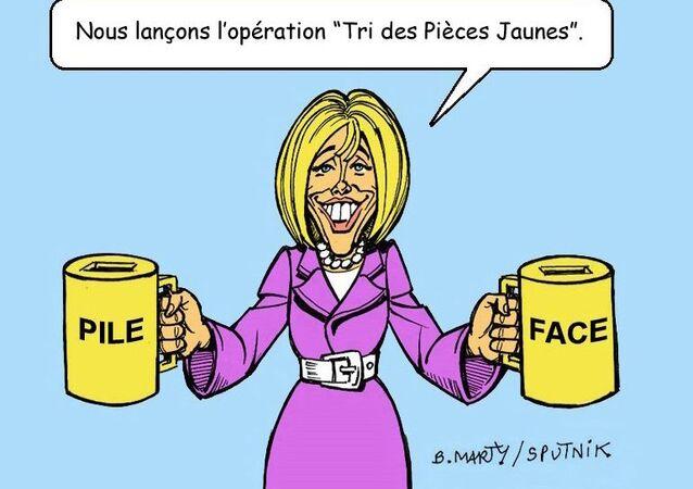 «Indécent de venir quémander des pièces jaunes»: Brigitte Macron tancée lors du lancement de la collecte