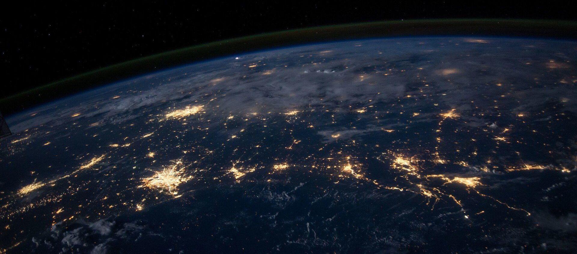 La Terre vue de l'espace - Sputnik France, 1920, 11.03.2021