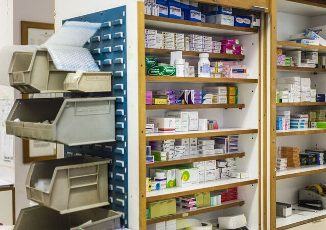 Une pharmacie, image d'illustration