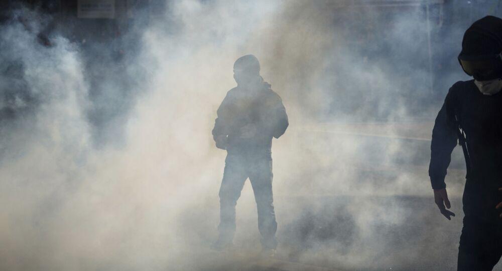 Du gaz lacrymogène à Lyon le 9 janvier 2020