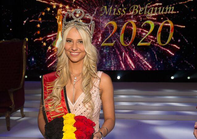Miss Belgique Celine Van Ouytsel, le 11 janvier 2020