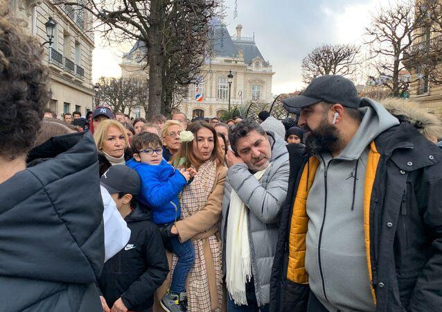 Livreur mort après son interpellation à Paris: une marche blanche à Levallois-Perret en son hommage (photo d'archives)