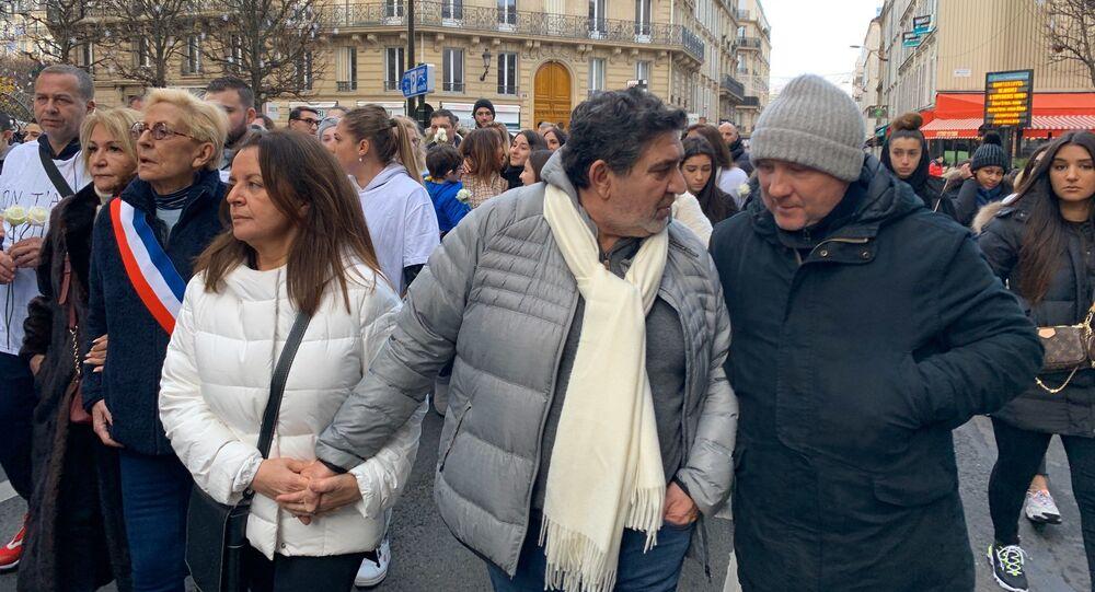 Une marche blanche à Levallois-Perret en hommage à Cédric Chouviat