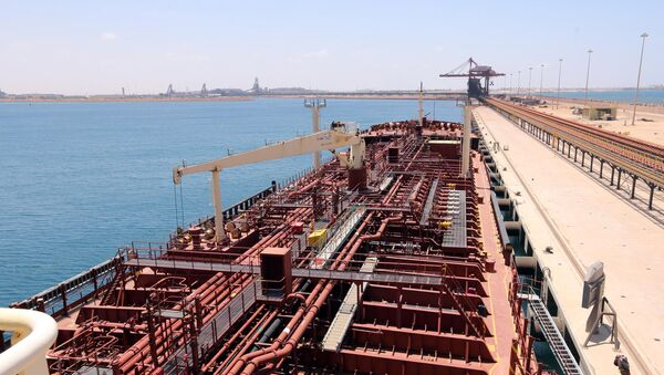 Dans le port de Misrata - Sputnik France