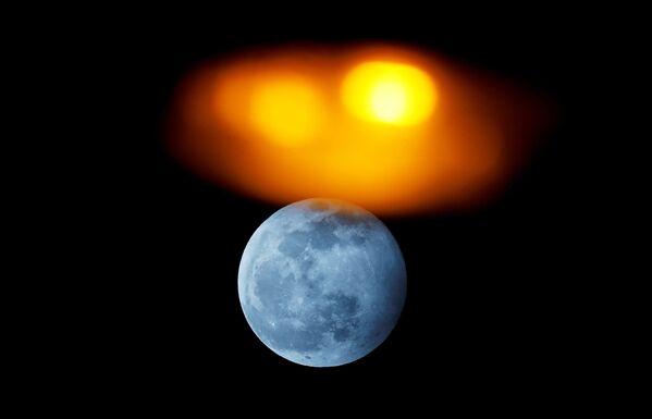 Phénomène fantastique: pleine lune de Loup et première éclipse lunaire de l'année 2020  - Sputnik France