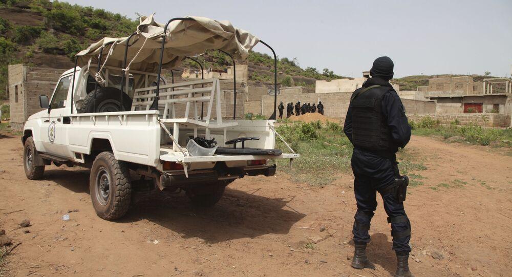 Un policier malien, image d'illustration