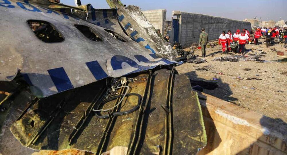 Crash du Boeing 737-800 de Ukraine Airlines International près de Téhéran